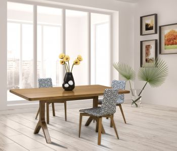 Hudson Table with Slip-U Chairs