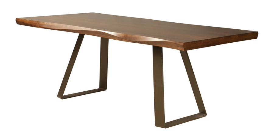 Max Sculpted Edge Dining Table