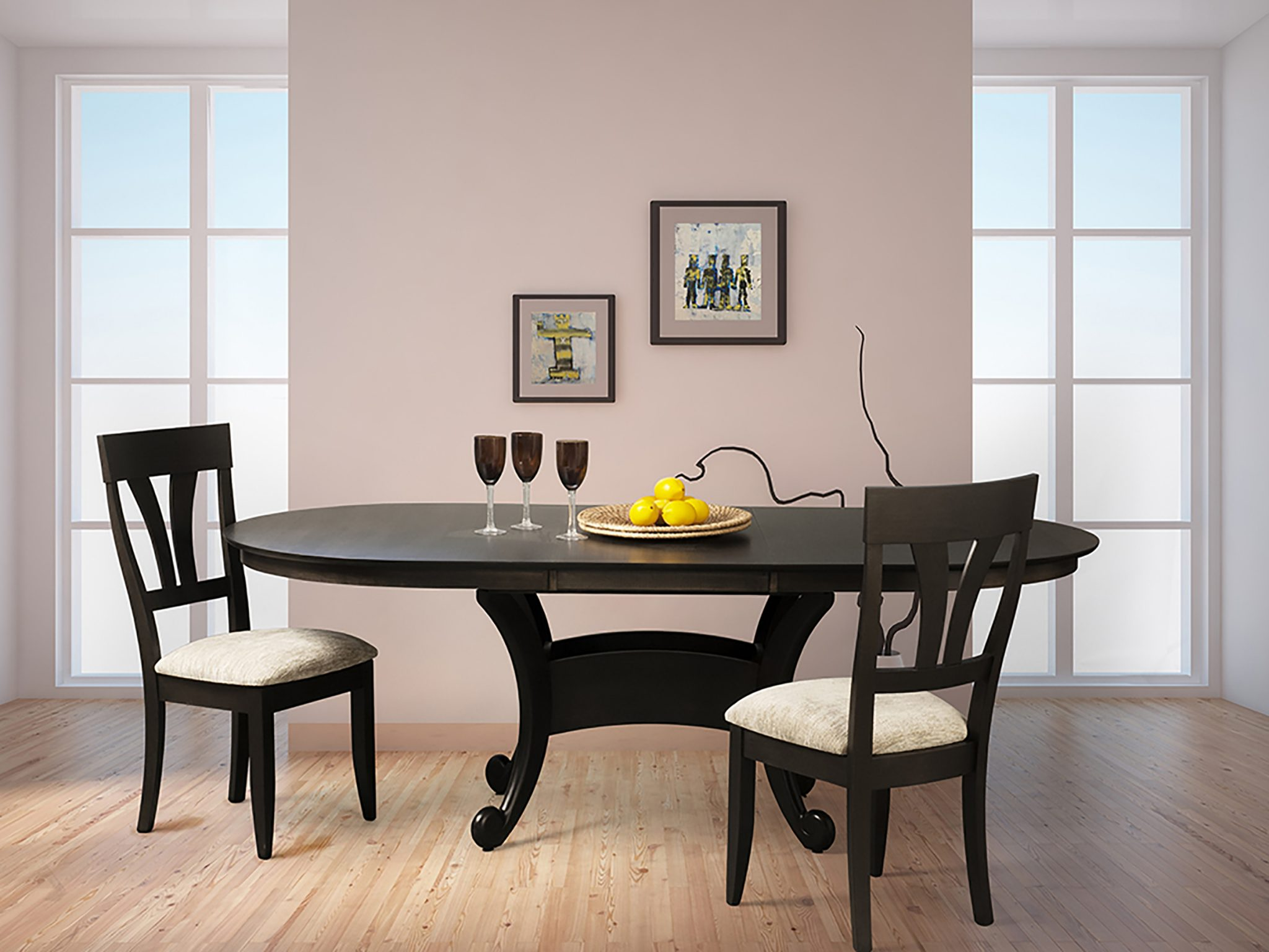 Neptune Deluxe Dining Table – Saloom Furniture pany