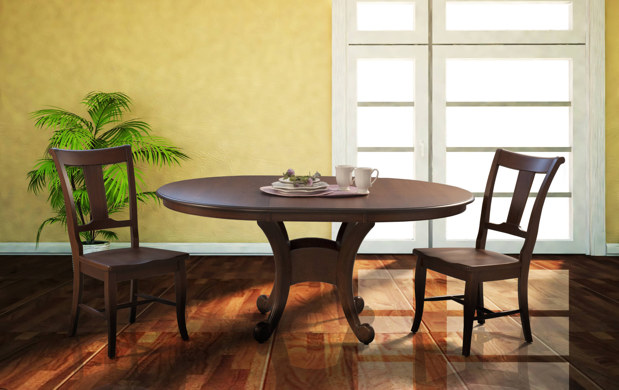 Neptune Dining Table – Saloom Furniture pany